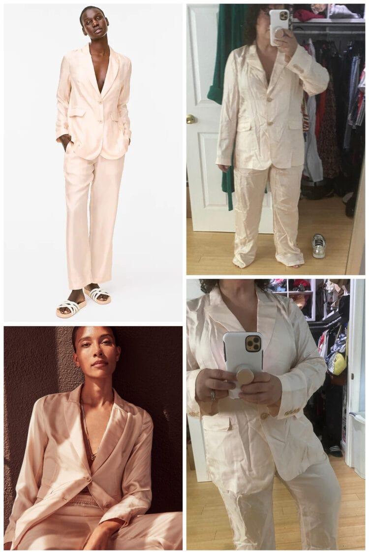 jcrew silk suit review