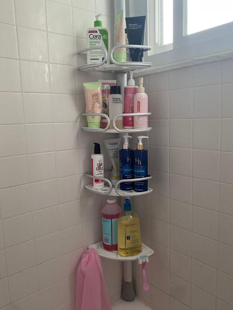 oxo shower organizer review