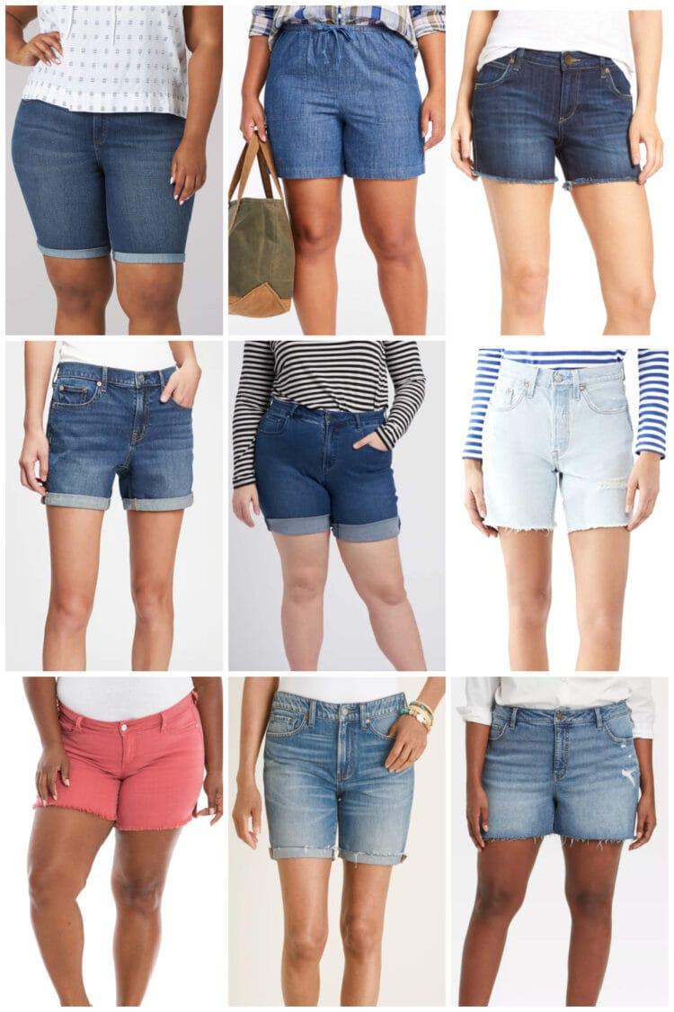 the best denim shorts for women