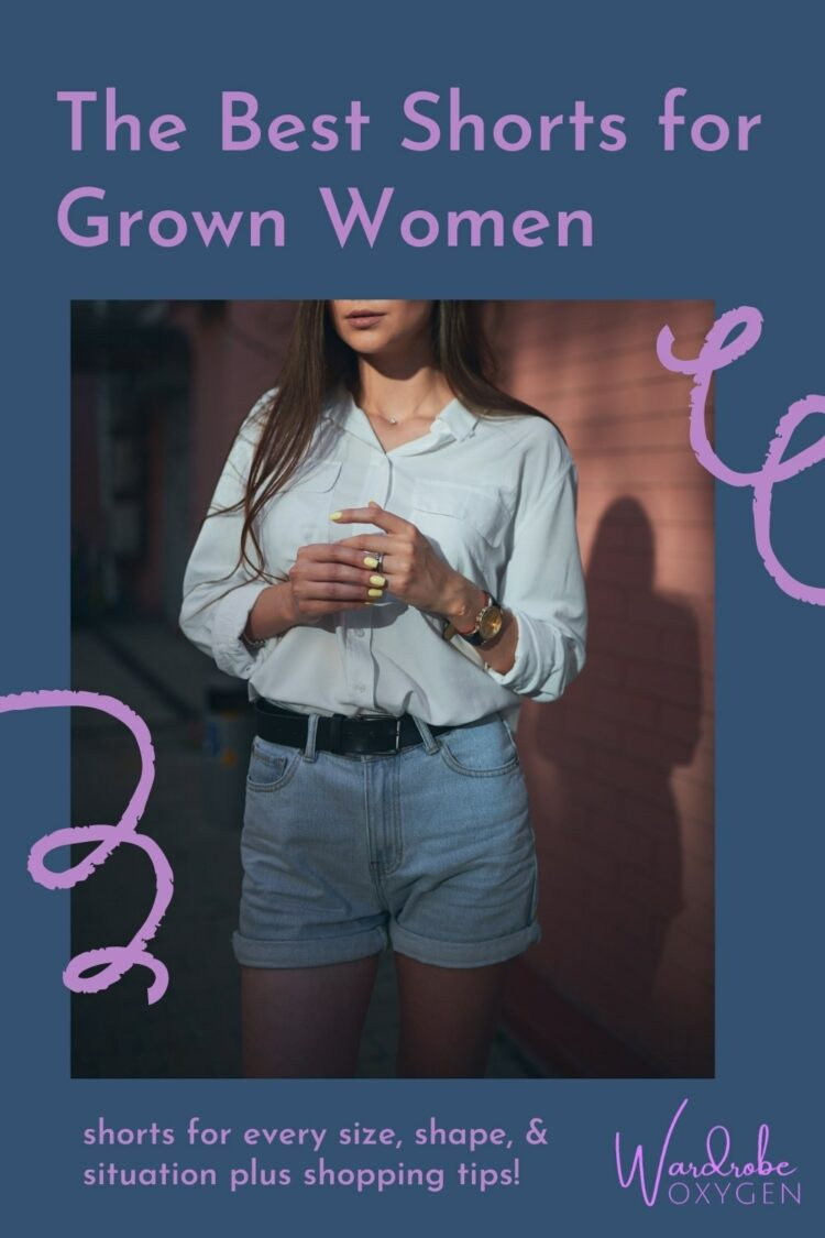 the best shorts for grown women