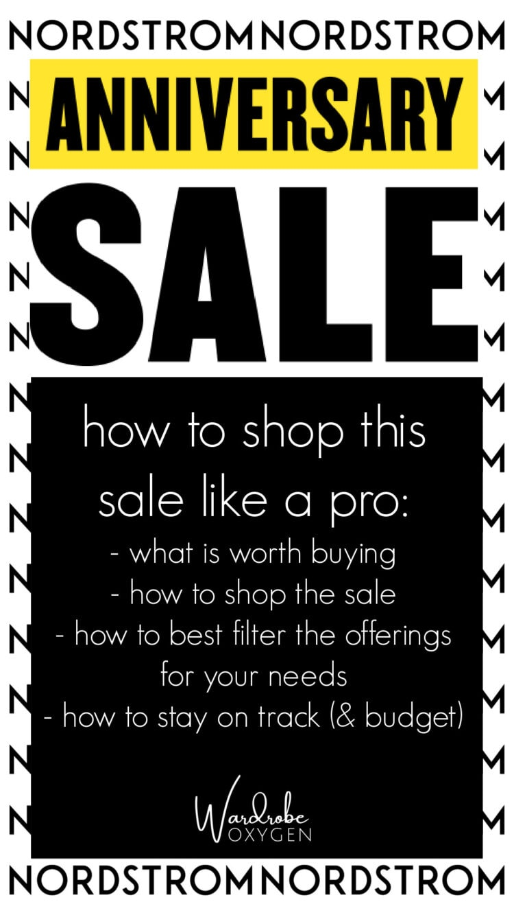how to shop the nordstrom anniversary sale: tips from a professional online shopper