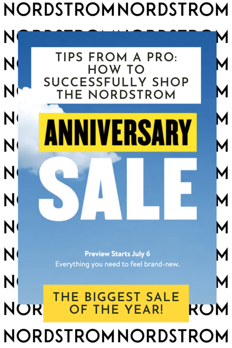 tips on how to shop the nordstrom anniversary sale like a pro