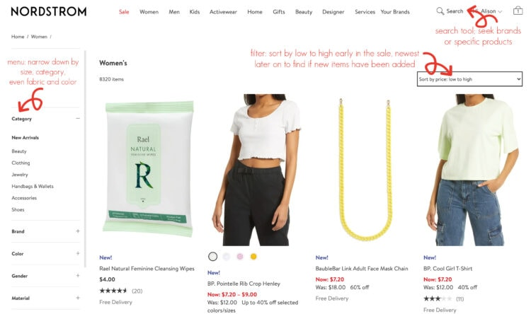 how to shop the nordstrom anniversary sale by a professional