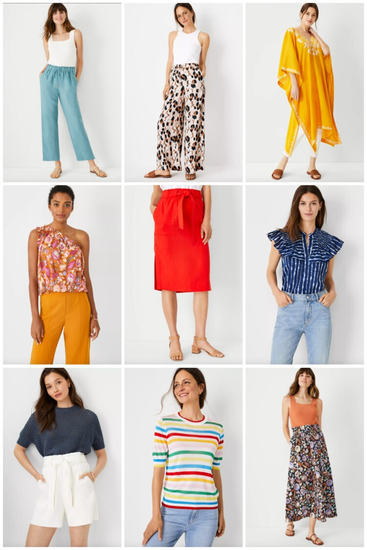 summer separates from ann taylor