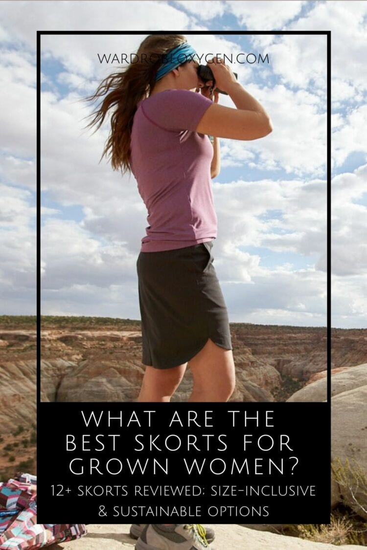 what are the best skorts for grown women? Wardrobe Oxygen reviews over 12 styles.