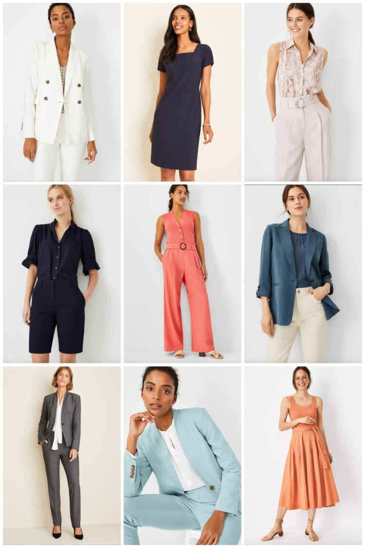 work separates from ann taylor
