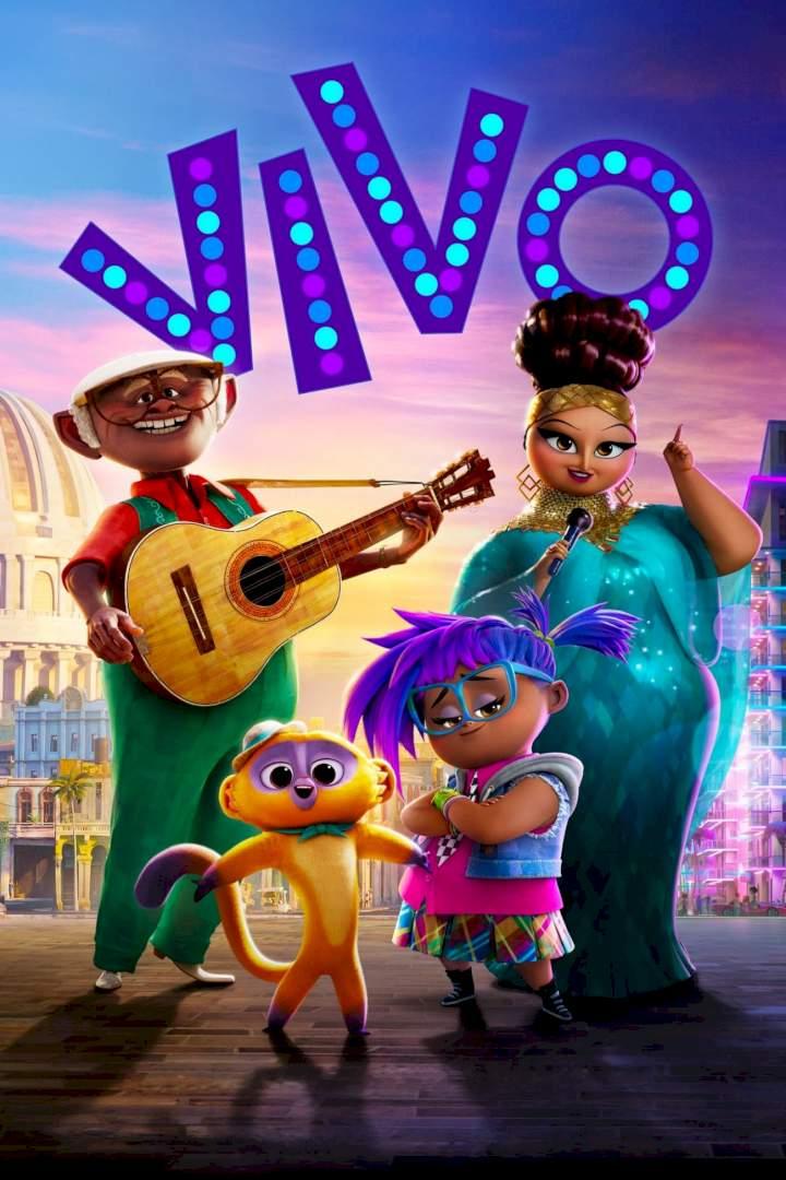 vivo movie poster