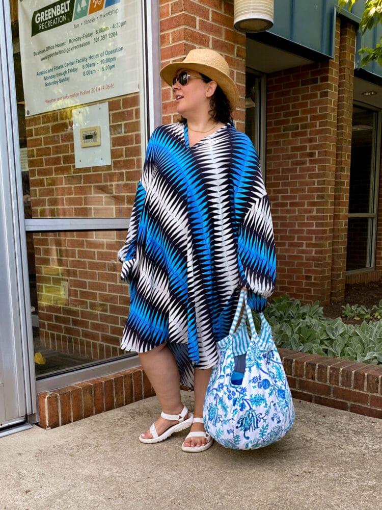 Roller Rabbit beach bag on Wardrobe Oxygen