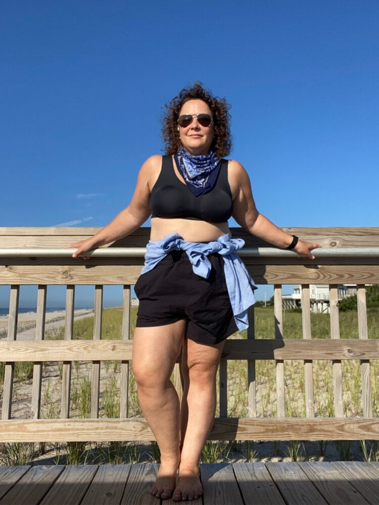 what i wore to fire island