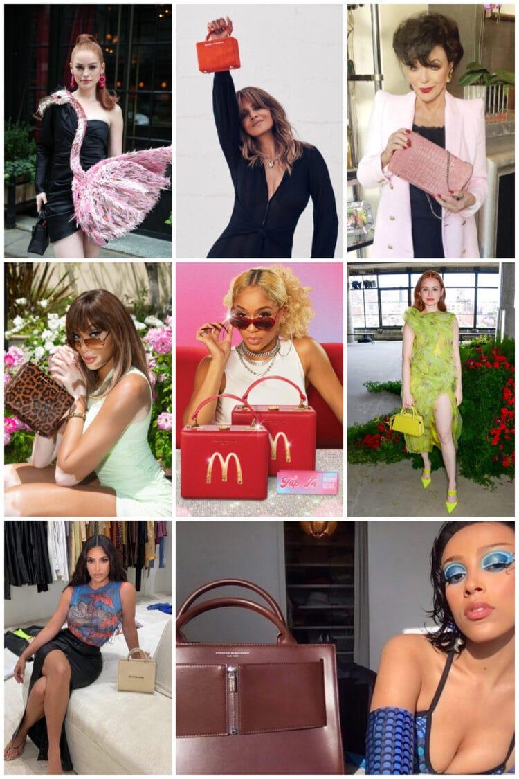 celebrities carrying brandon blackwood bags