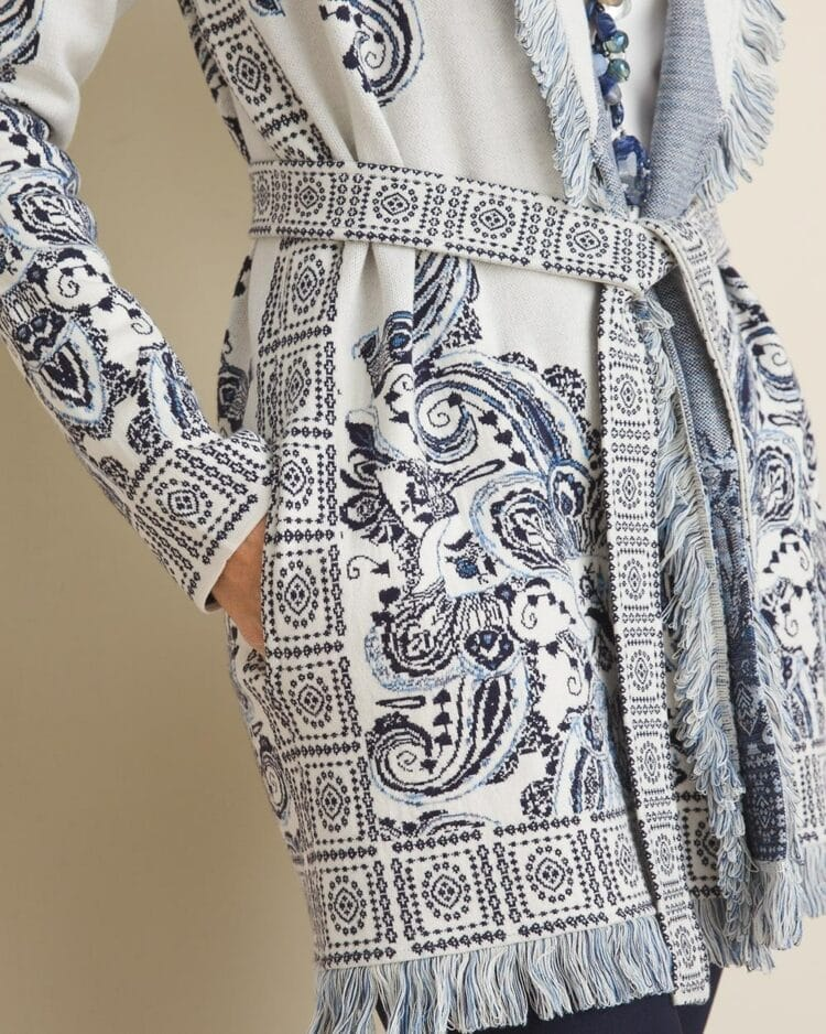 chicos sweater detail