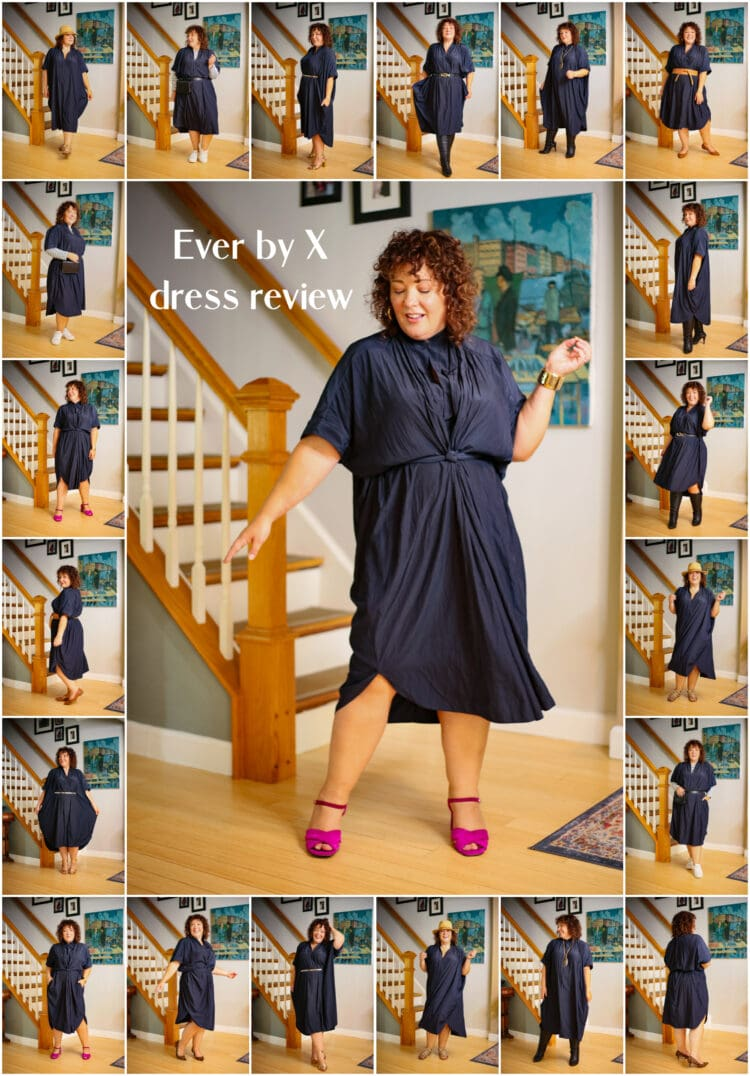 ever by x dress review plus size