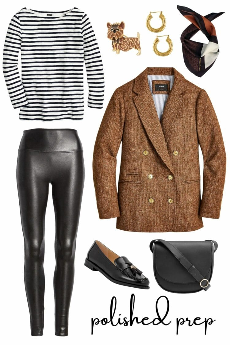 how to style faux leather leggings by wardrobe oxygen