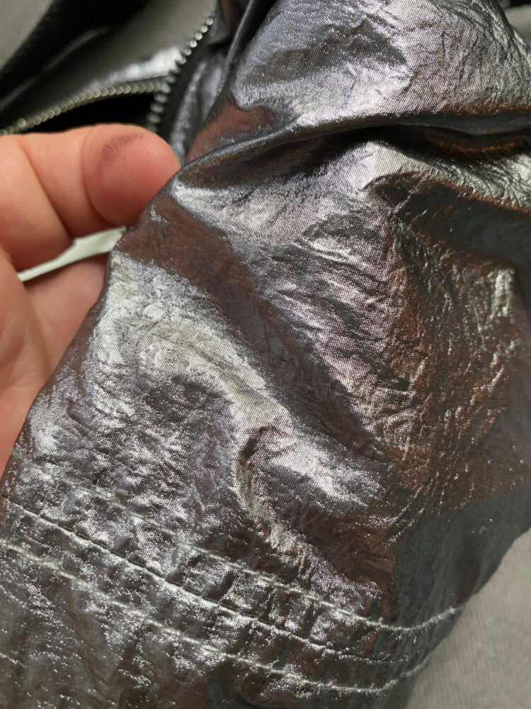 isabel marant nooni silver fabric