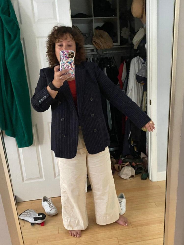 jcrew bristol blazer size 14