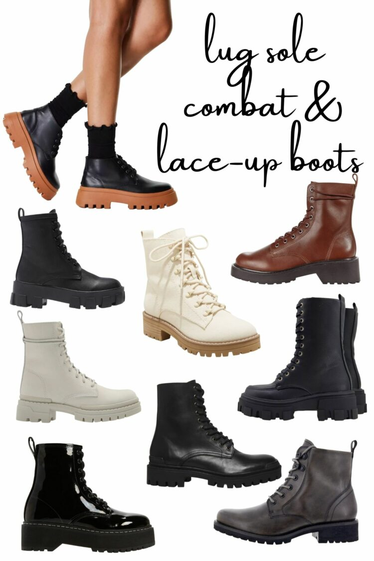 lug sole boots under 100 1