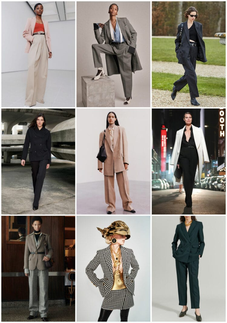suiting trend for fall
