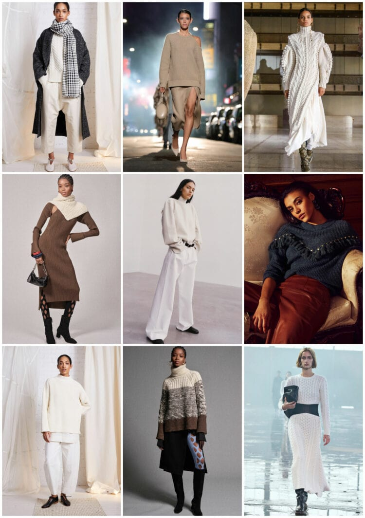 sweater trend for fall