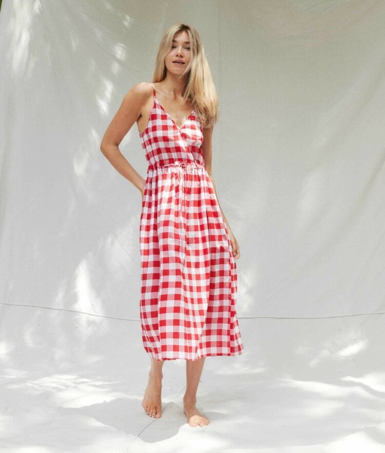 the lincoln dress from christy dawn