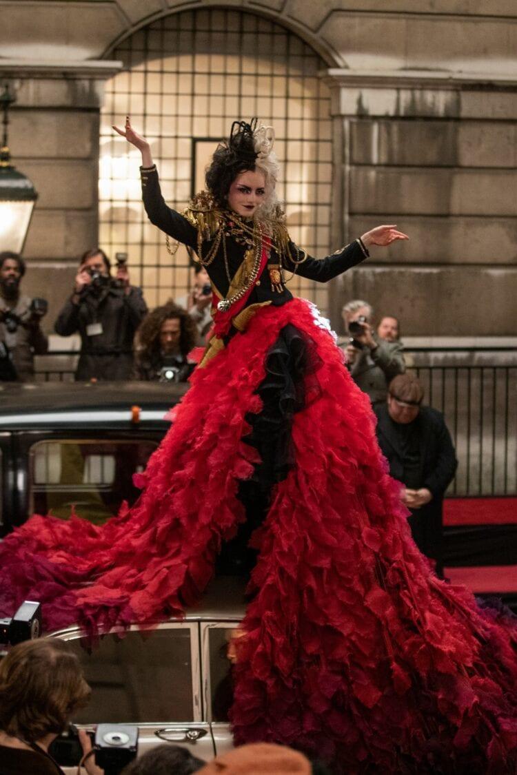 Cruella costume designer vogue credit Disney10
