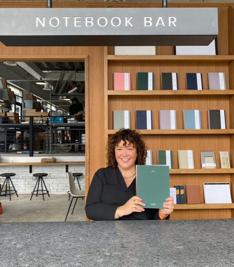 appointed notebook bar ivy city dc