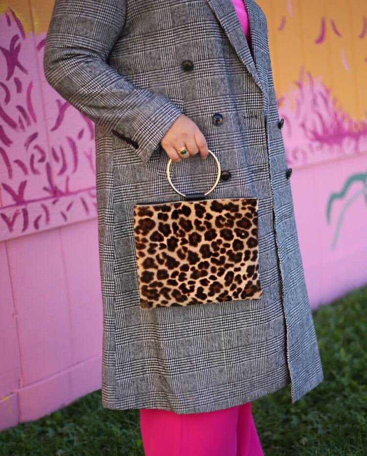 Thacker NYC leopard bag